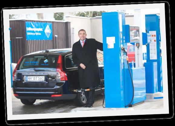 Aral Tankstelle Eröffnung mit Stefan Bork