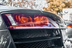 Heckscheinwerfer eines Audi R8