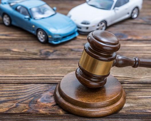 Auktionshammer bei Autoauktionen