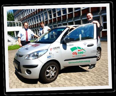 Versuchsfahrzeug Autogas-Diesel-Zündstrahlgasaggregat von Goldschmitt