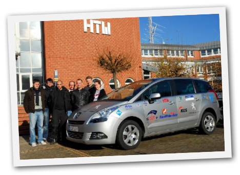 Autogas Peugeot vom Institut Automotive Powertrain