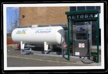 Autogas LPG Hoftankstelle