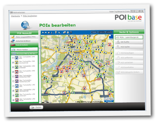 POIbase von pocketnavigation.de