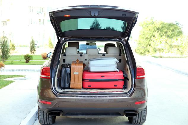 Checkliste Urlaub Kofferraum Gepaeck