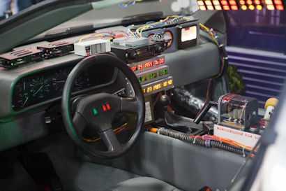 DeLorean Innenraum