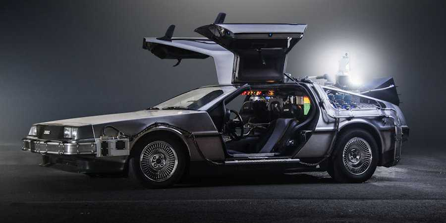 Delorean Zeitmaschine