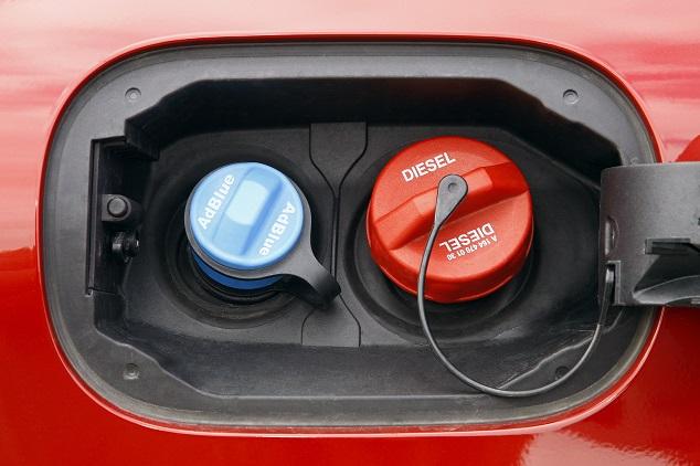 Diesel- und AdBlue-Einfüllstutzen