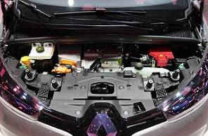 E-Car Motorraum
