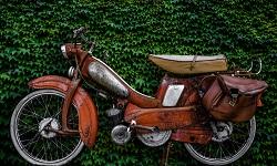 Ein altes Mofa aus den 60er Jahren