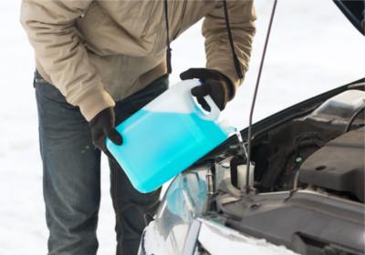 Frostschutzmittel prüfen