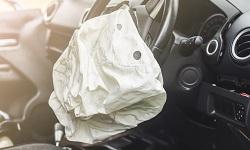 Ein Airbag hat ausgelöst