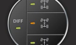 Schalter für die Differentialsperre