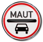 Verkehrsschild PKW-Maut