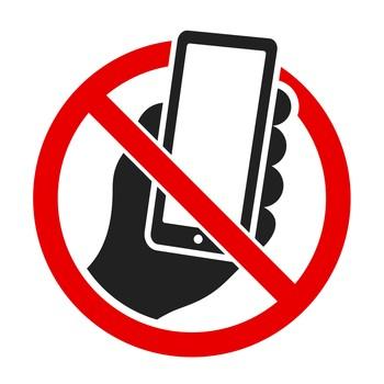 Handy verbot Symbol