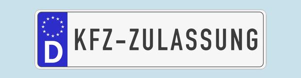 Autokennzeichen Strassenverkehrsamt und KFZ Zulassungsstelle