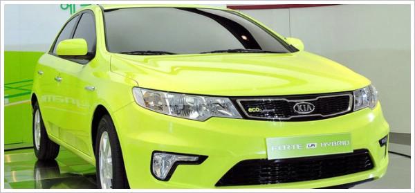Kia Forte mit Autogas-Hybrid