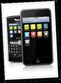 Klicktel App auf dem iPhone und auf dem Blackberry