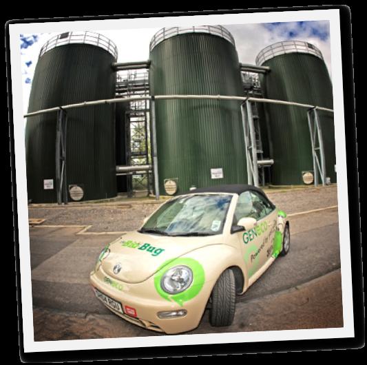 BioBug mit Methangas Antrieb