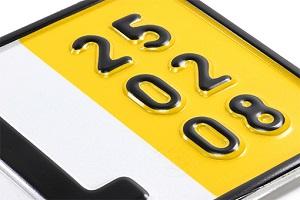 PKW Kurzzeitkennzeichen