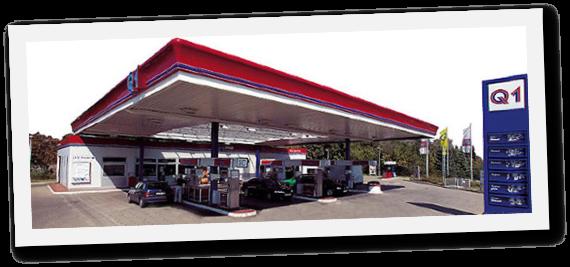 Q1 Autogas Tankstelle