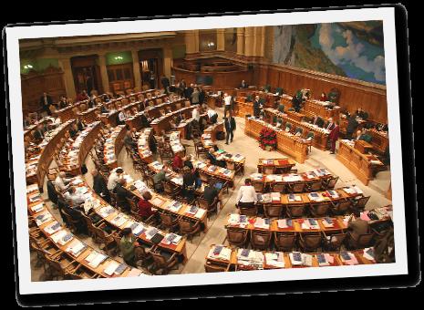 Schweizer Parlament Nationalrat
