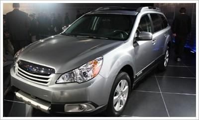 Subaru Outback mit bivalentem Antrieb (Autogas / Benzin)