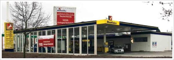 5000ste Autogas LPG Tankstelle