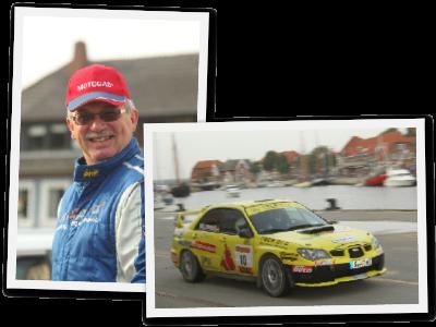 Thomas Wallenwein und sein Autogas-Subaru