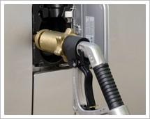 Autogas Zapfsäule bei Westfalen AG