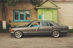 Fahrzeug der späten 80er Jahre